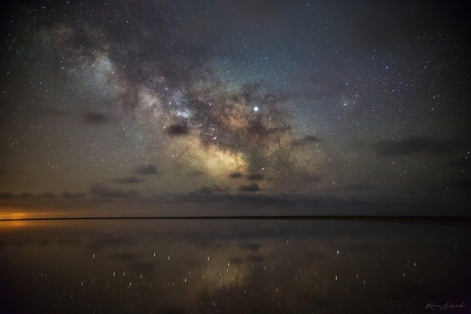 крым, роман любимский, астропейзаж, млечный путь, Роман Любимский