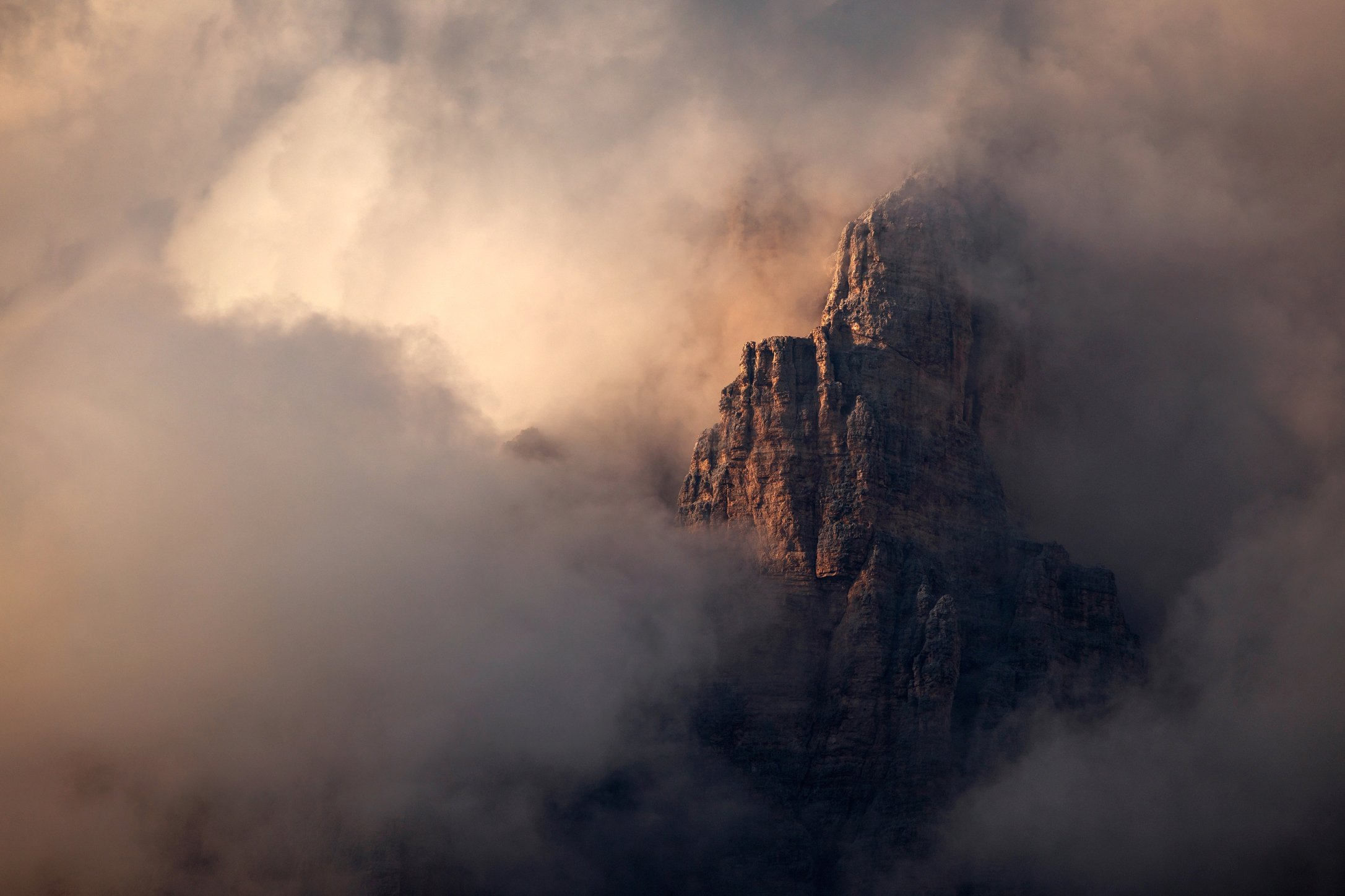 mountains, dolomites, italy, sunset, landscape, nature, travel, summer, peak, clouds, Lazar Ioan Ovidiu