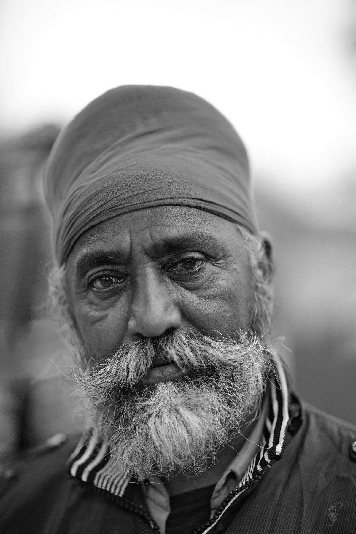 #Portrait #Male # Man # BnW # Monochrome # India, D Abhijit