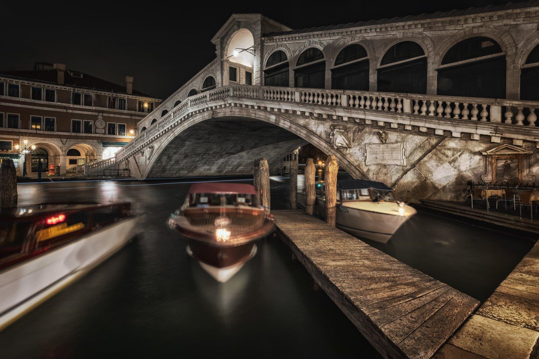 венеция, ночь, Alexandr Bezmolitvenny