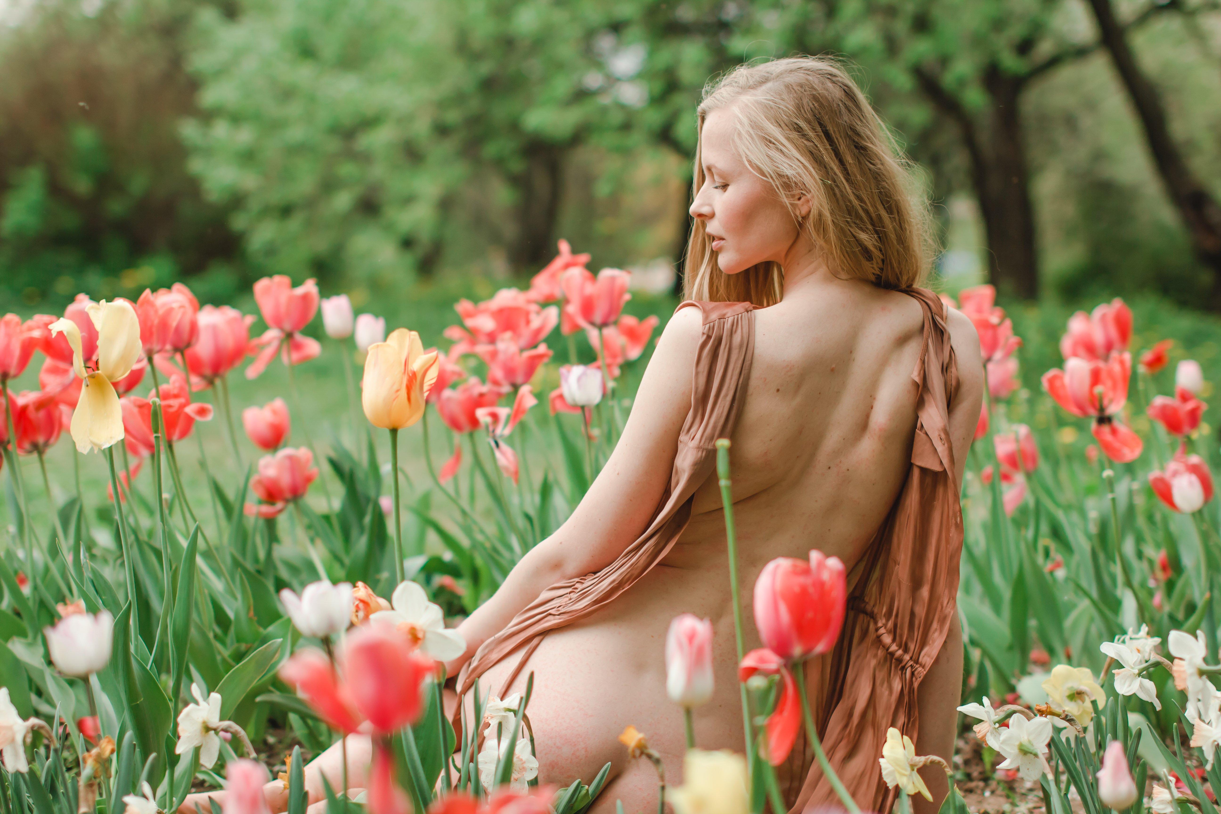пленэр, портрет, девушка, модель, Анна Петина
