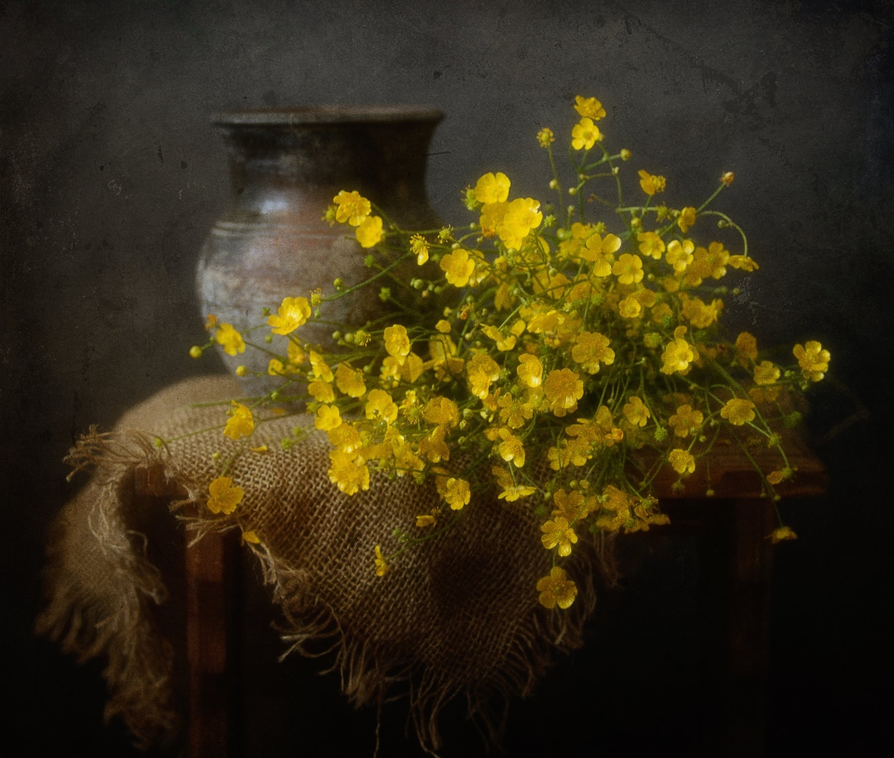 натюрморт,лютики,цветы, Наталия К