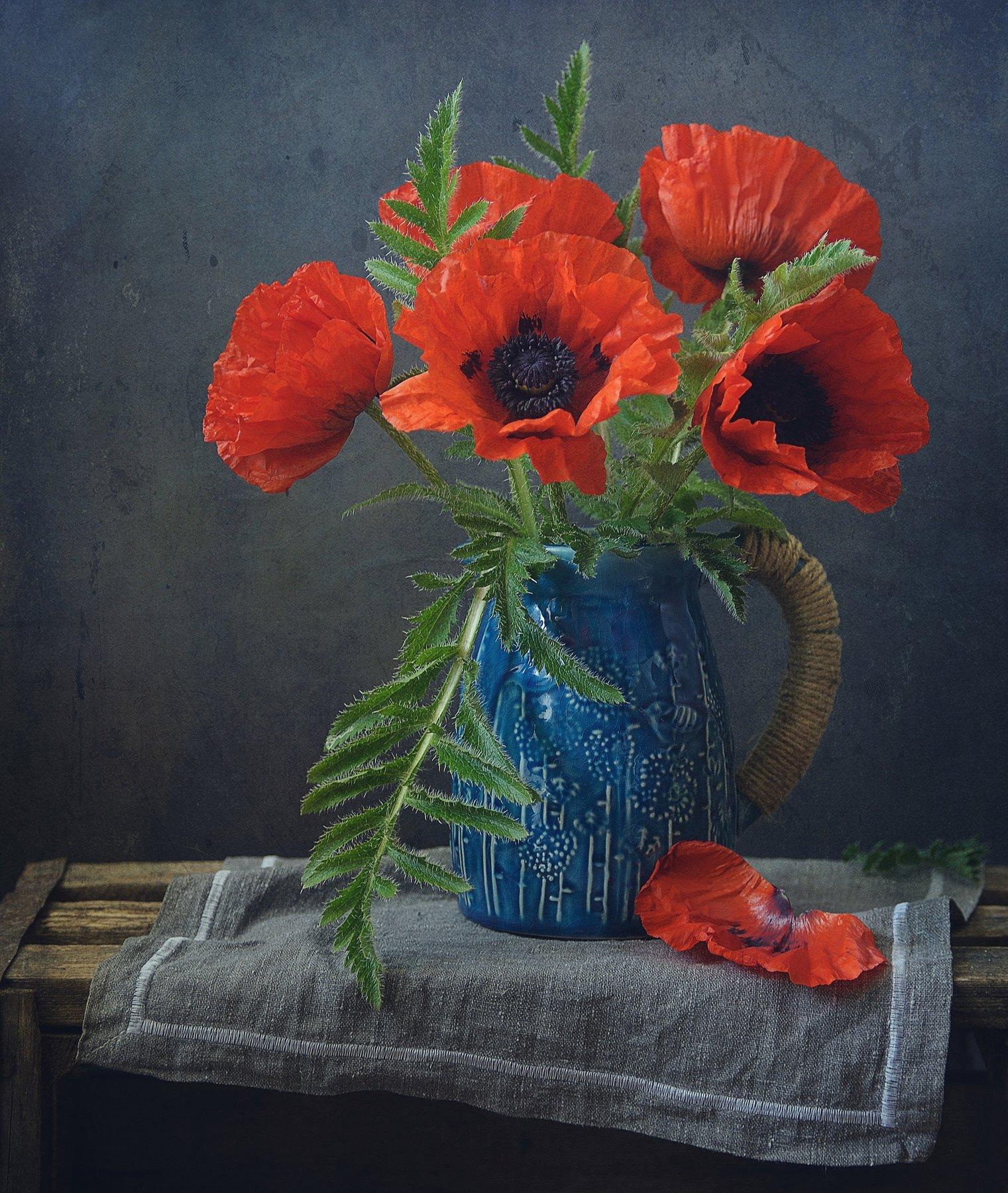 натюрморт,маки,цветы, Наталия К