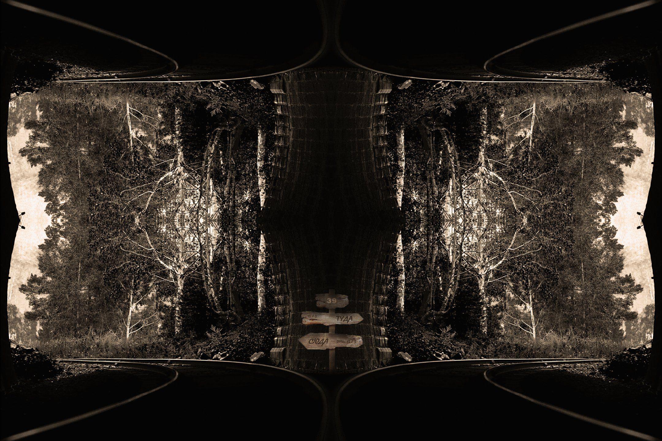 креатив, обработка, концепция, выбор, путь, concept, choose, way, left, right, Салтыков Дмитрий