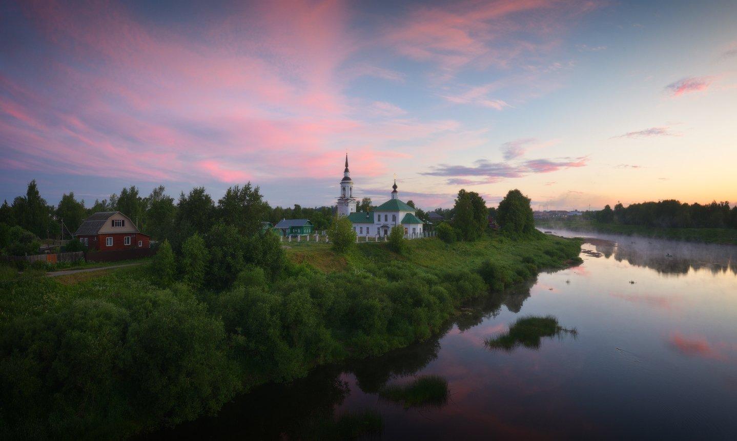 пейзаж, природа, река, буй, Гордиенко Анатолий
