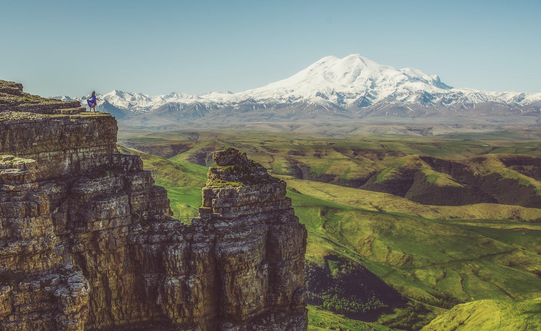 горы, эльбрус, кавказ, бермамыт, Горюнов Андрей