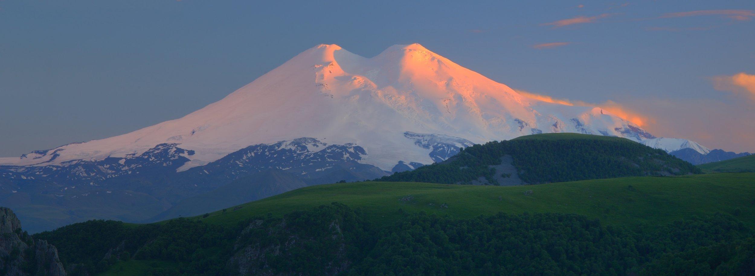 горы лето кавказ эльбрус, Александр Жарников