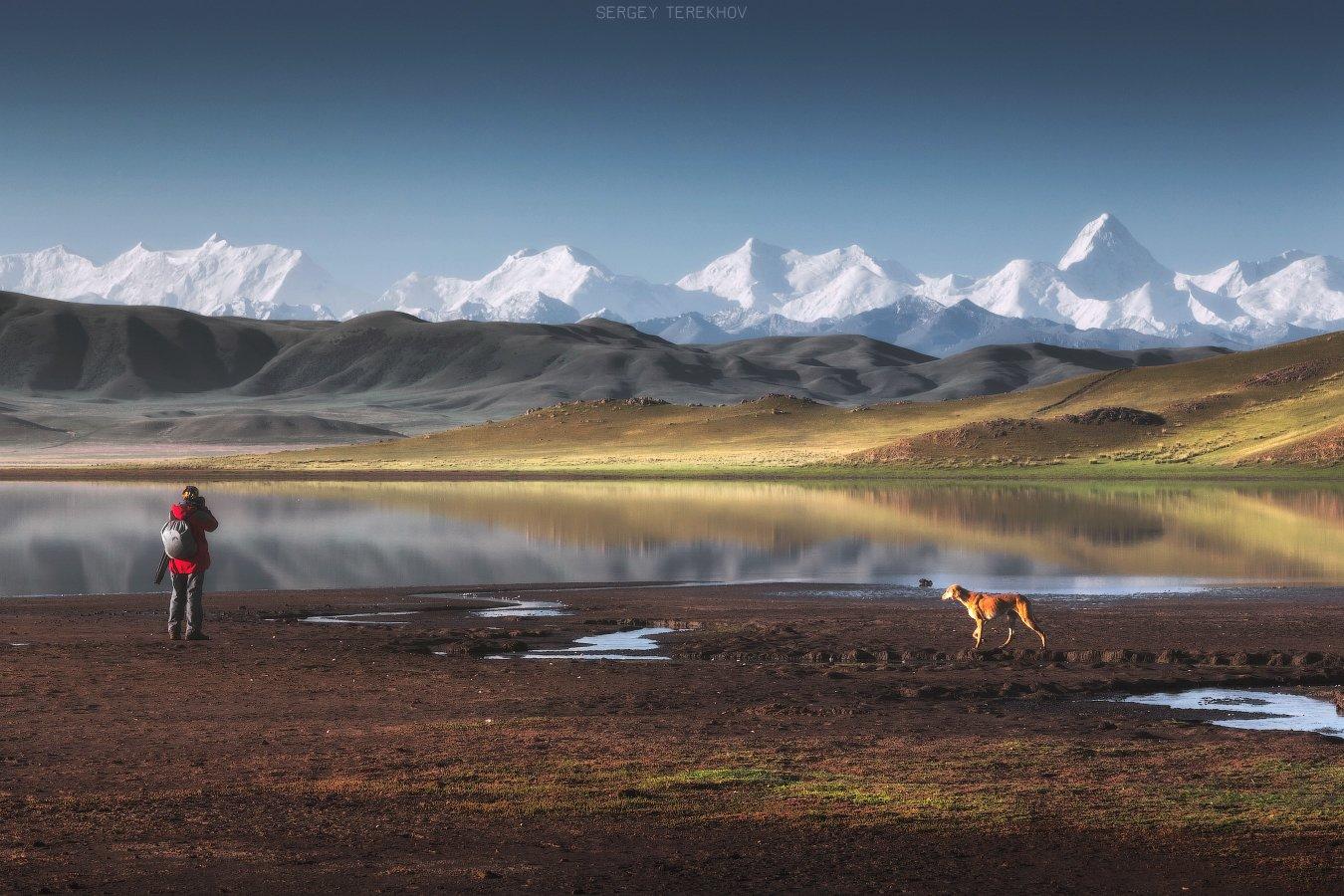 казахстан, озеро тузколь, северный тянь-шань, хан-тенгри, фото туры по казахстану,, Сергей Терехов