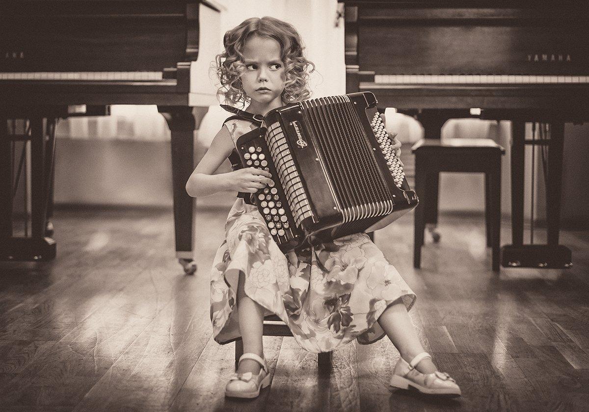 девочка баян музыка, Астахова Мария