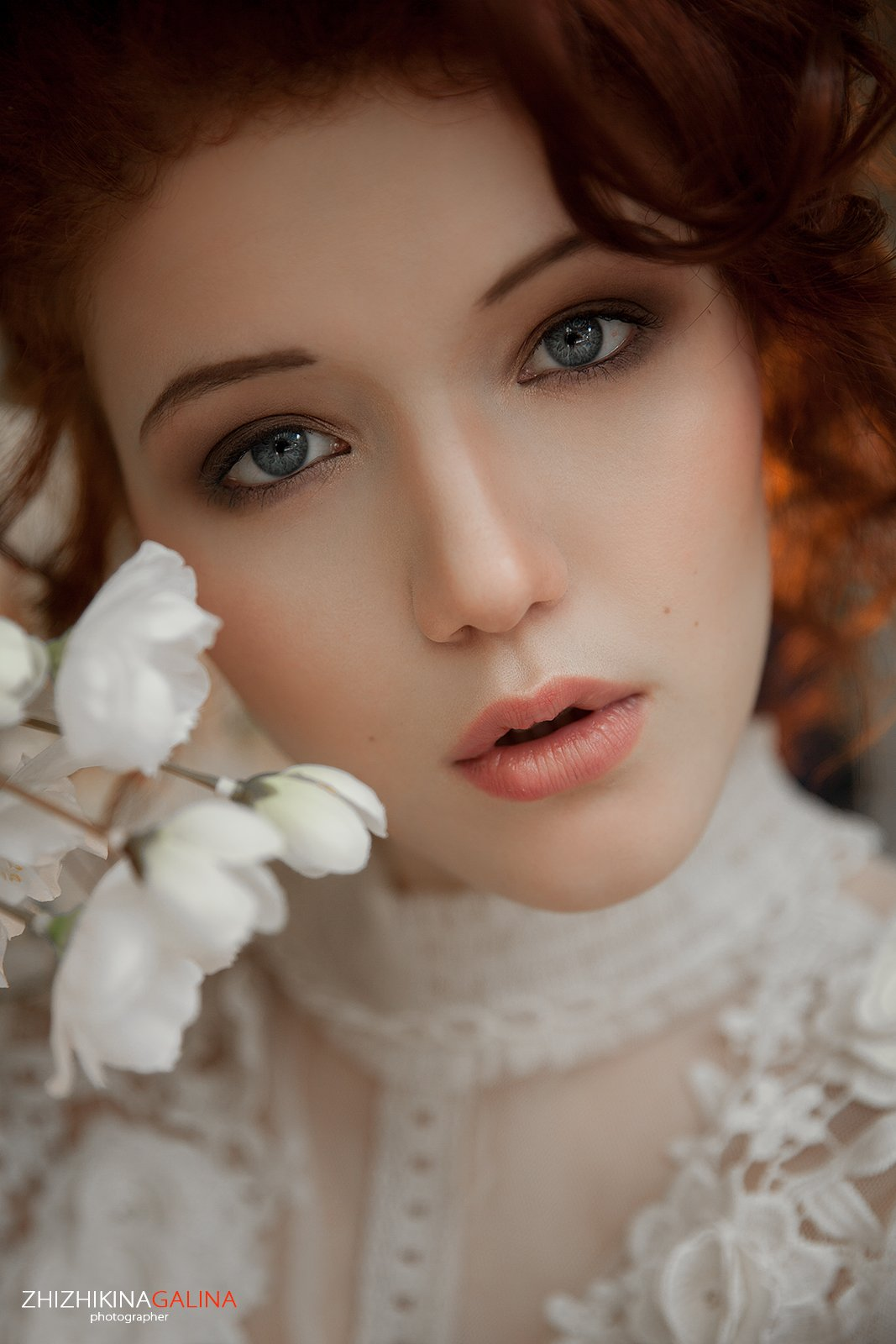 девушка, портрет, взгляд, глаза, portrait, face, girl, beauty, рыжая, фотограф, москва, жижикина, Галина Жижикина