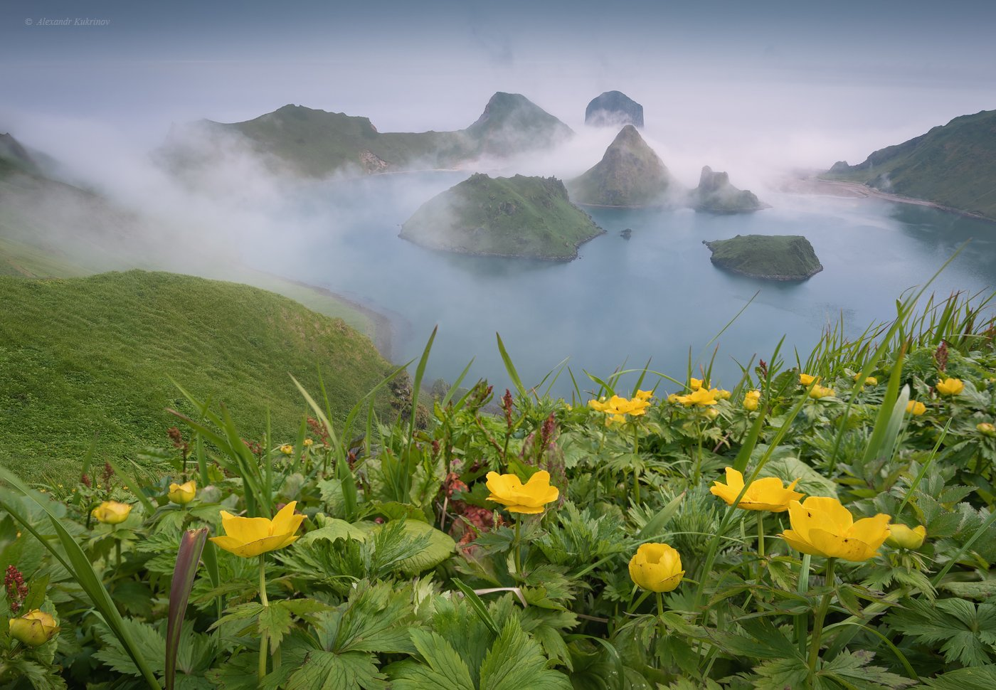 курилы, пейзаж, остров янкича, Александр Кукринов