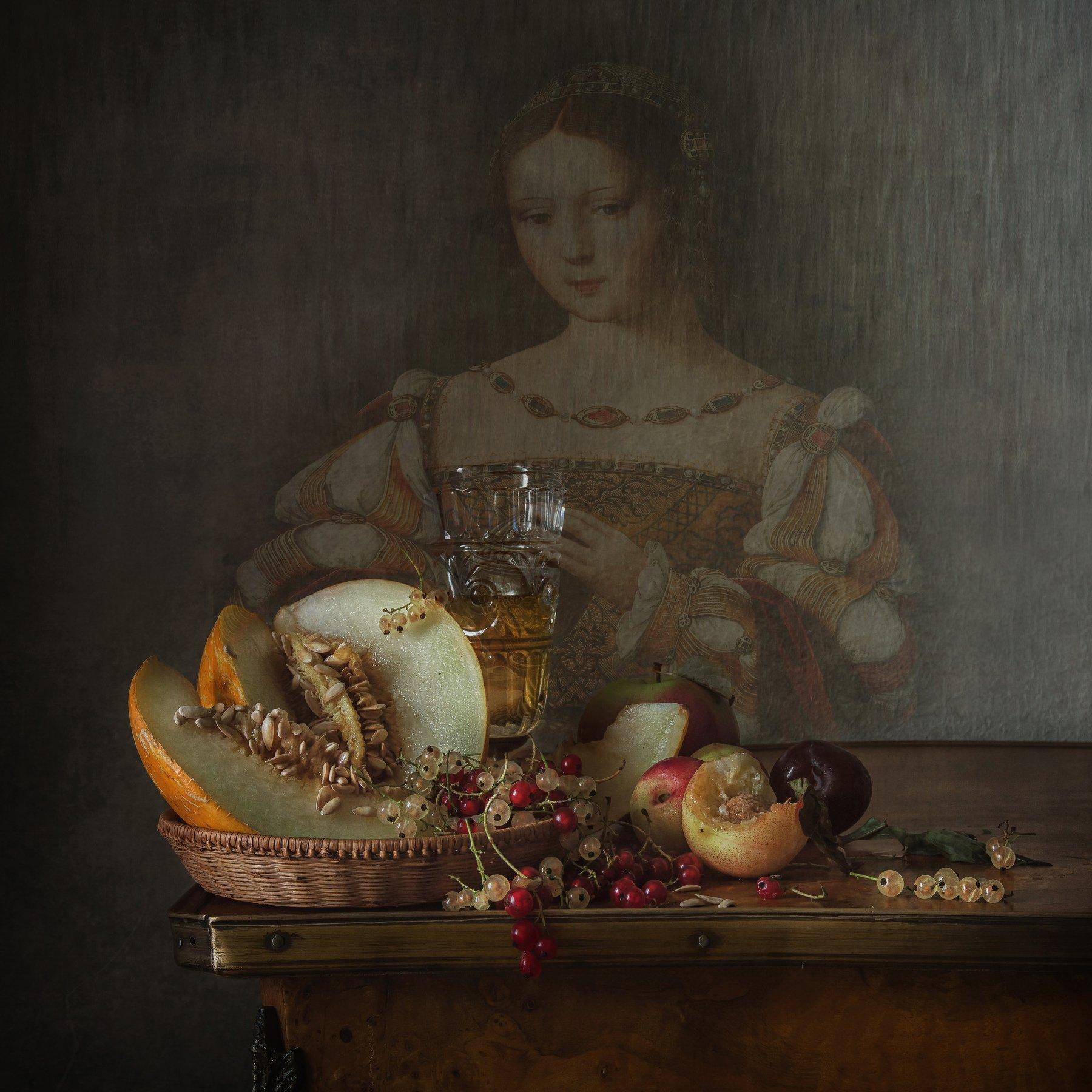 С портретом кисти неизвестного художника Анна Петина