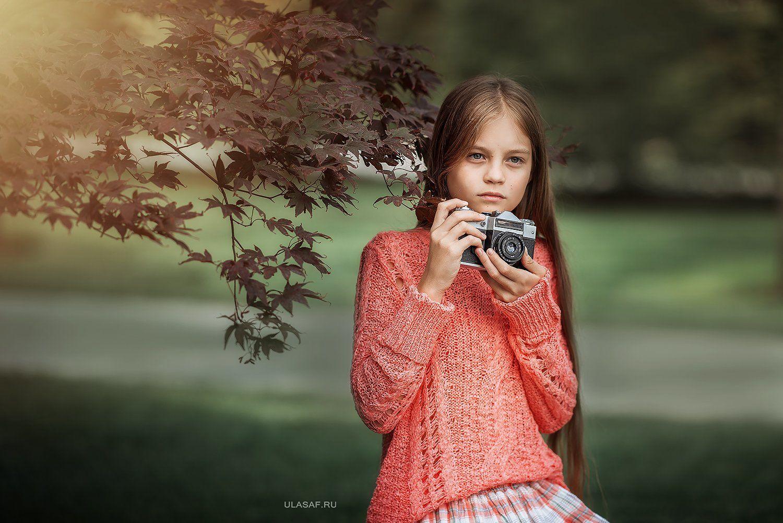портрет, art, portrait, лето, summer, фотоаппарат, фотокамера, чувства, дети, девочка, girl, волшебство, magik, грусть, camera, Юлия Сафо