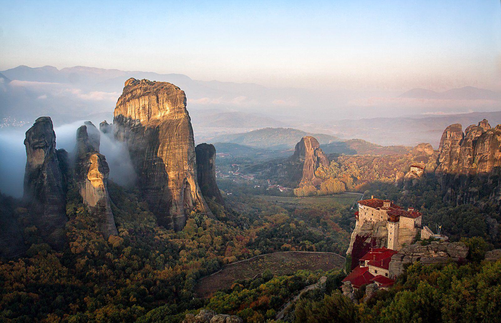 горы, туман, утро, метеоры, пейзаж,, Tatyana Forever