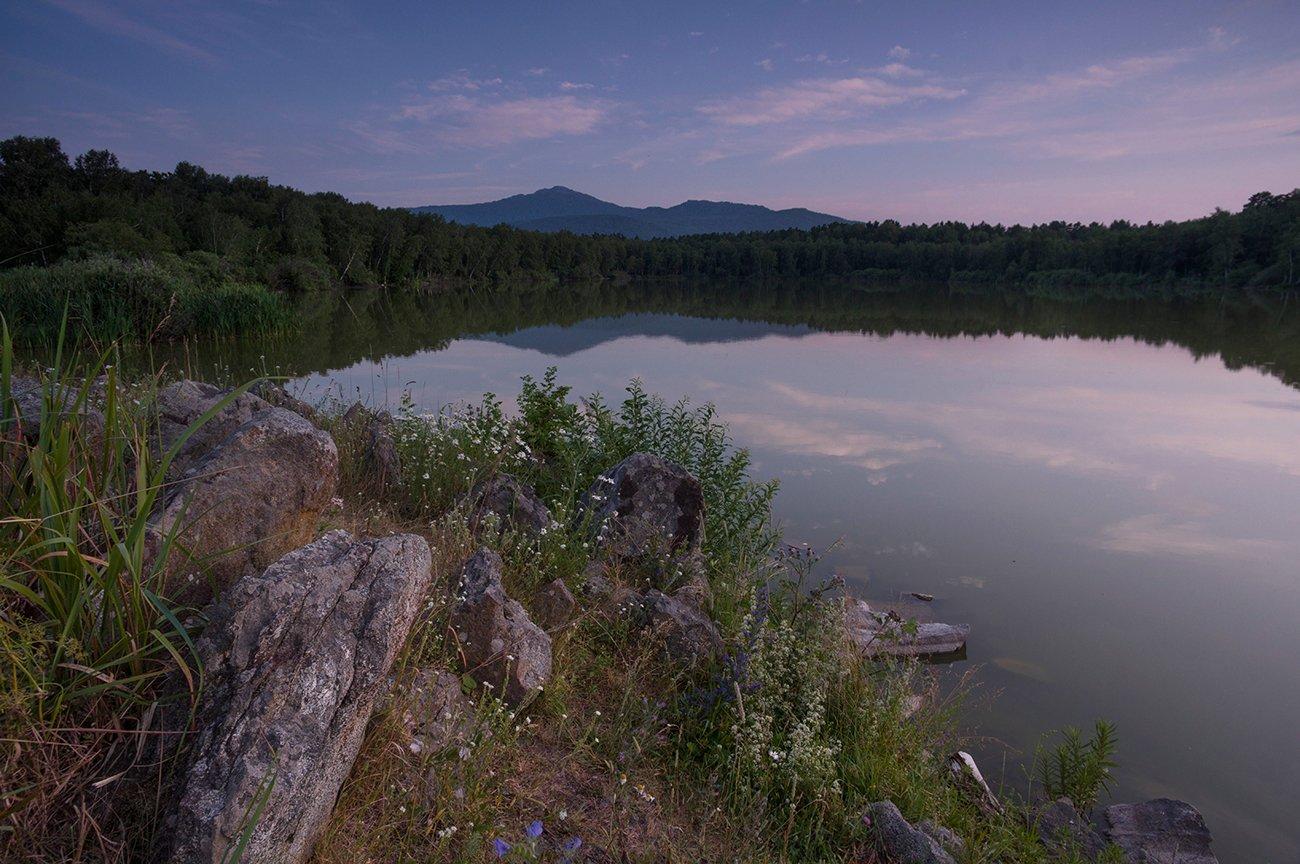 гор, синюха, горная _колывань, вечер, озеро, мармашное, Чичкин Валерий