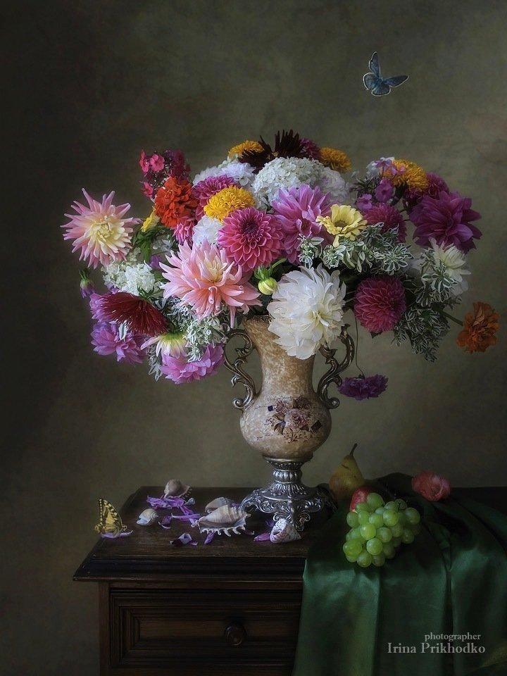 Цветочный натюрморт в стиле барокко Ирина Приходько