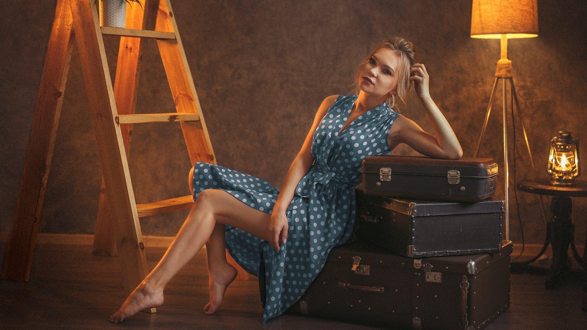 гламур, портрет, модель, арт, art, model, popular, Лосев Иван