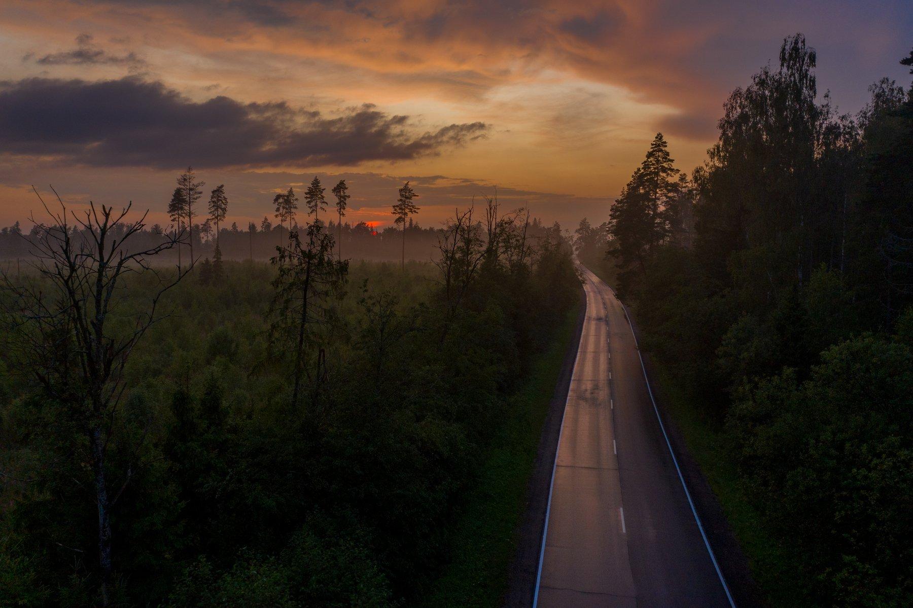 #fog #sunset, Дмитрий Демидов
