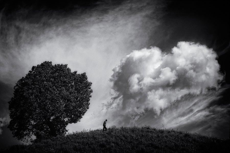 пейзаж,одиночество,человек, Тамара Андреева