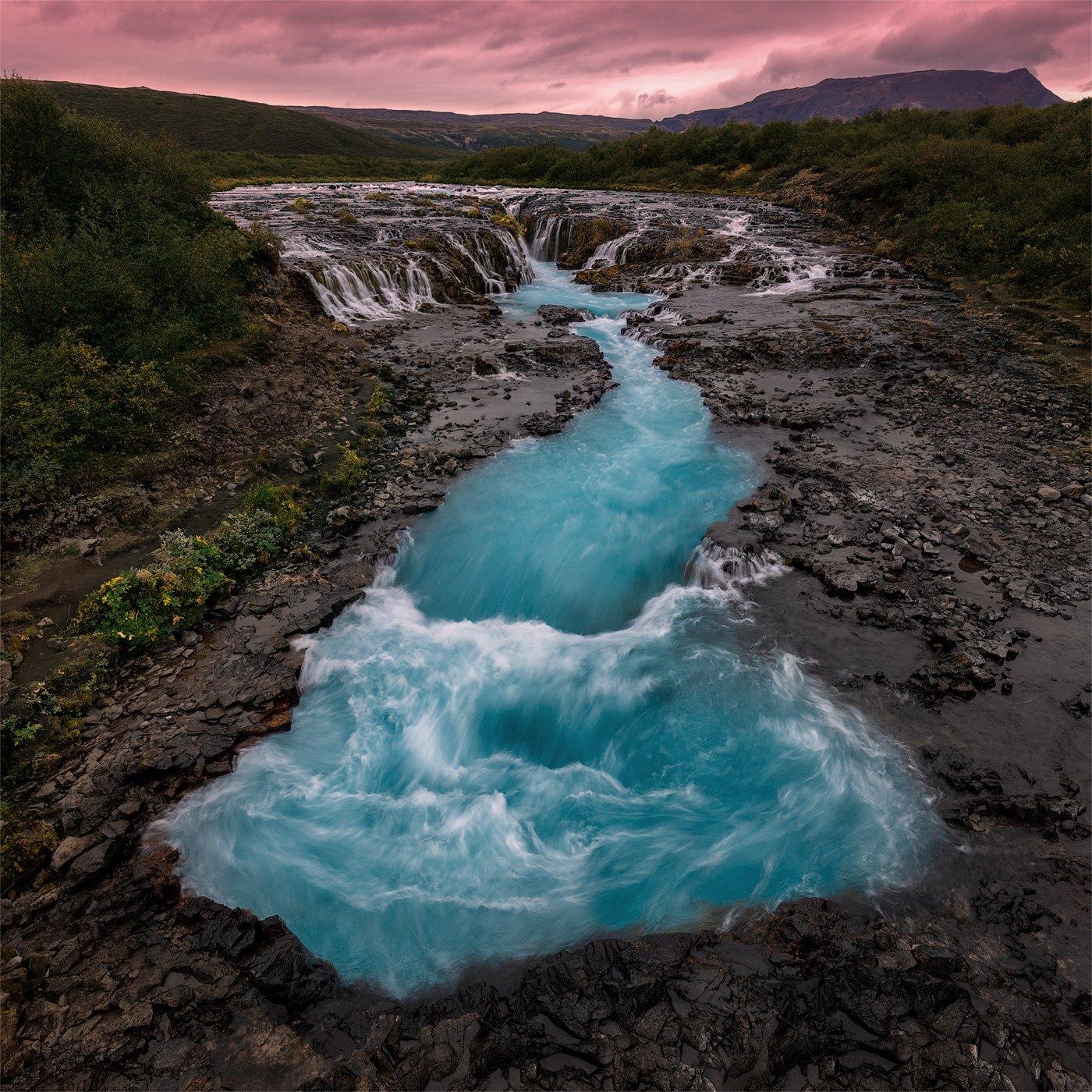 исландия, iceland, водопад, bruarfoss, Шевченко Юрий (Phototours.pro)