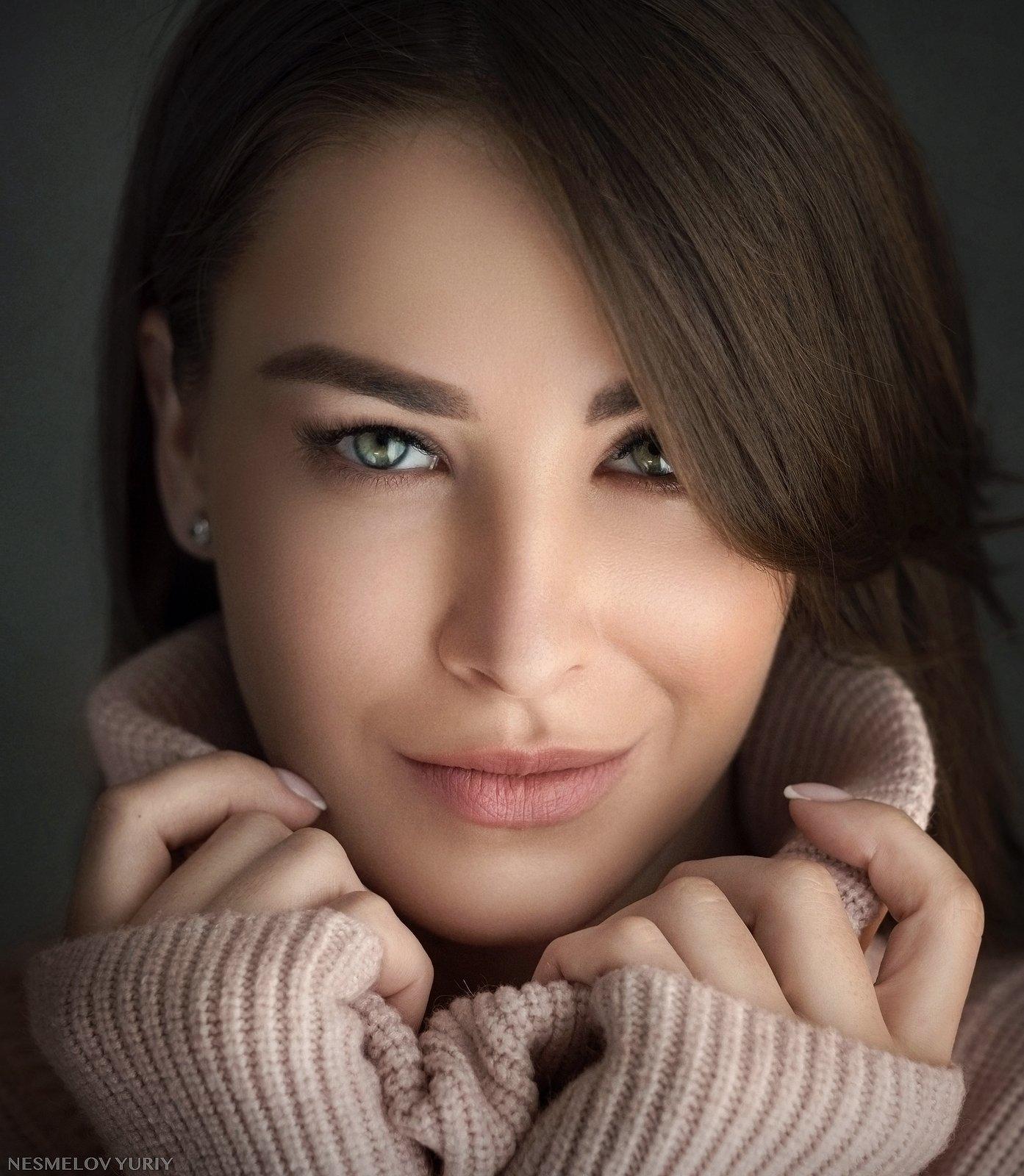 girl, portrait, art, девушка, портрет, Несмелов Юрий