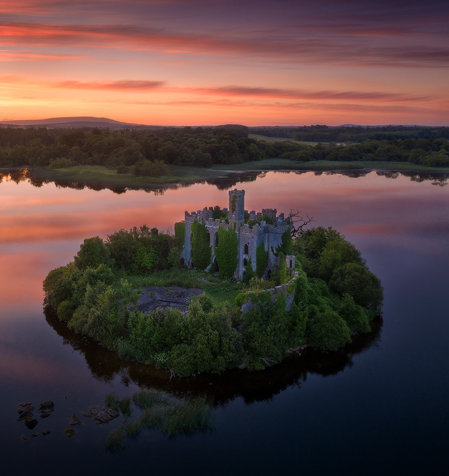 ireland, castle, Alex Yurko