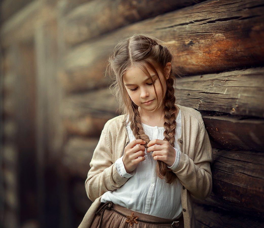 портрет девочка цвет, Мельникова Анна