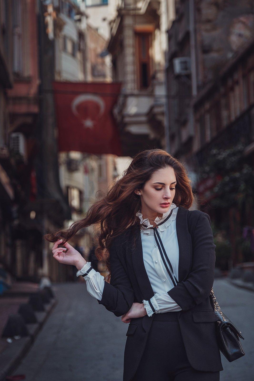 город, прогулка, девушка, весна, счастье, Стамбул, , брюнетка, city, town, walk, woman, Елена Молчанова