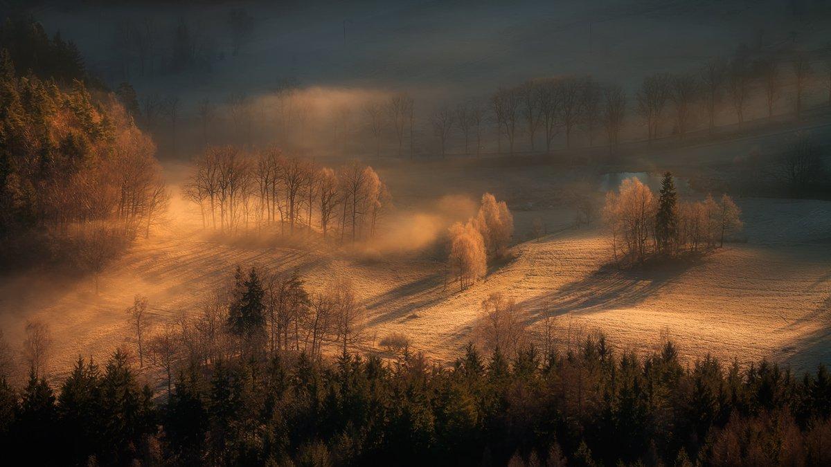 landscape,canon,mist,light,autumn,frost, Iza i Darek Mitręga