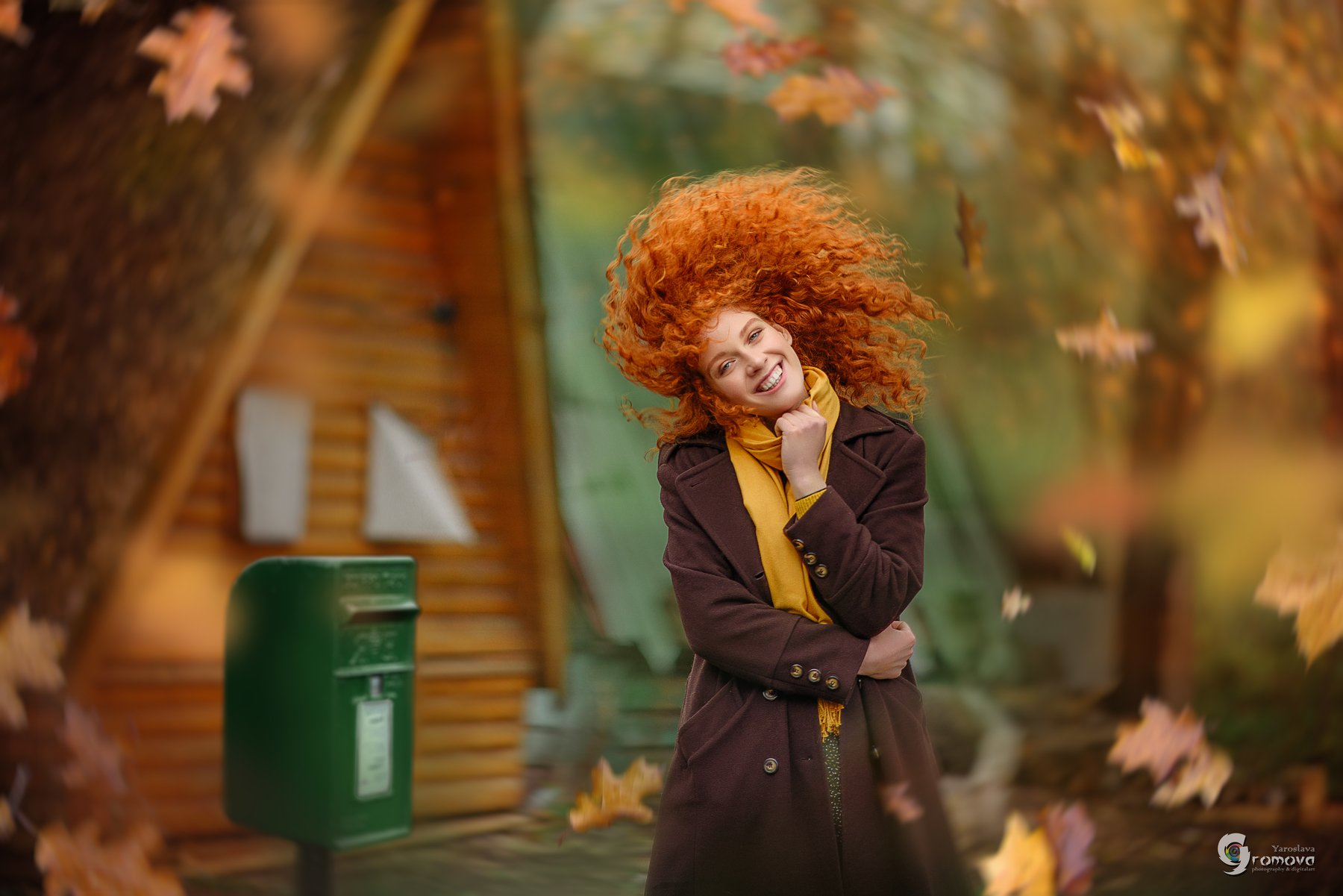 осень, рыжая, файнарт, счастье, Громова Ярослава