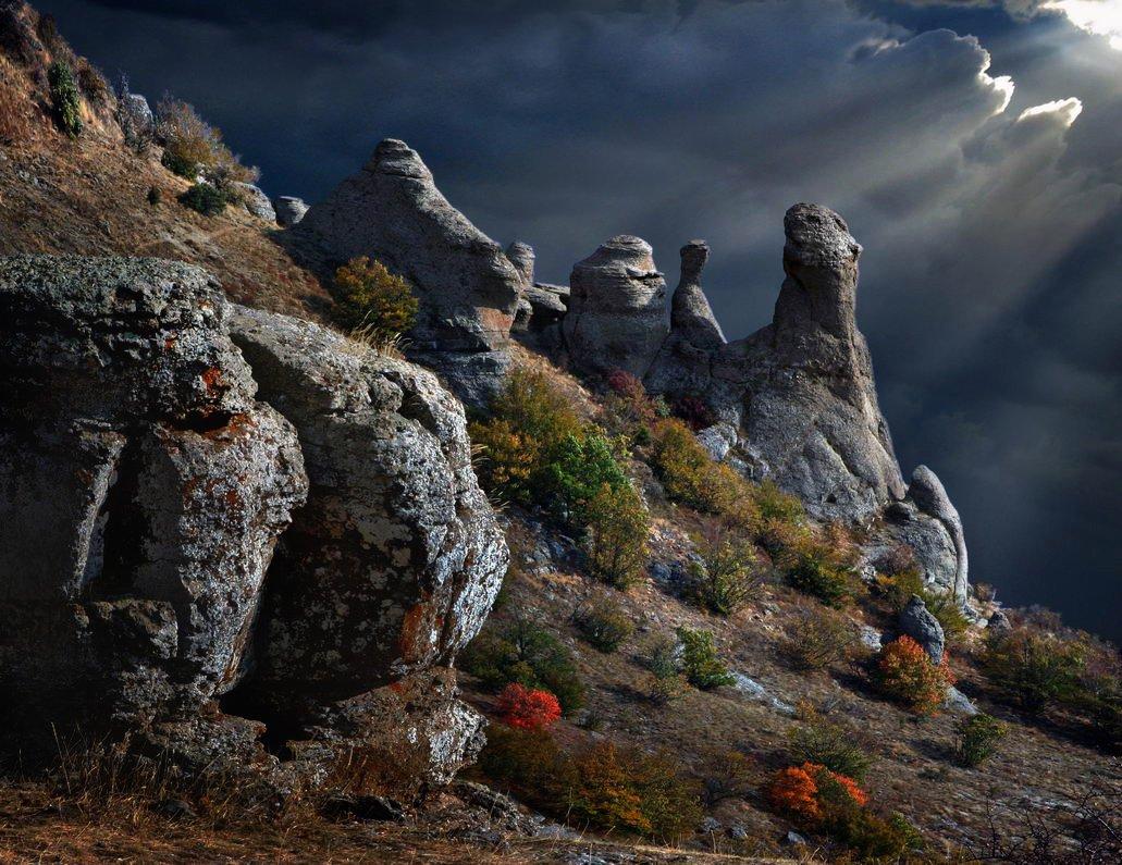 каменные-монстры-крыма, горы, скалы, зеленогорье, панагия, алушта, демерджи, крым, симеиз, чатырдаг, Serg-N- Melnik-oy