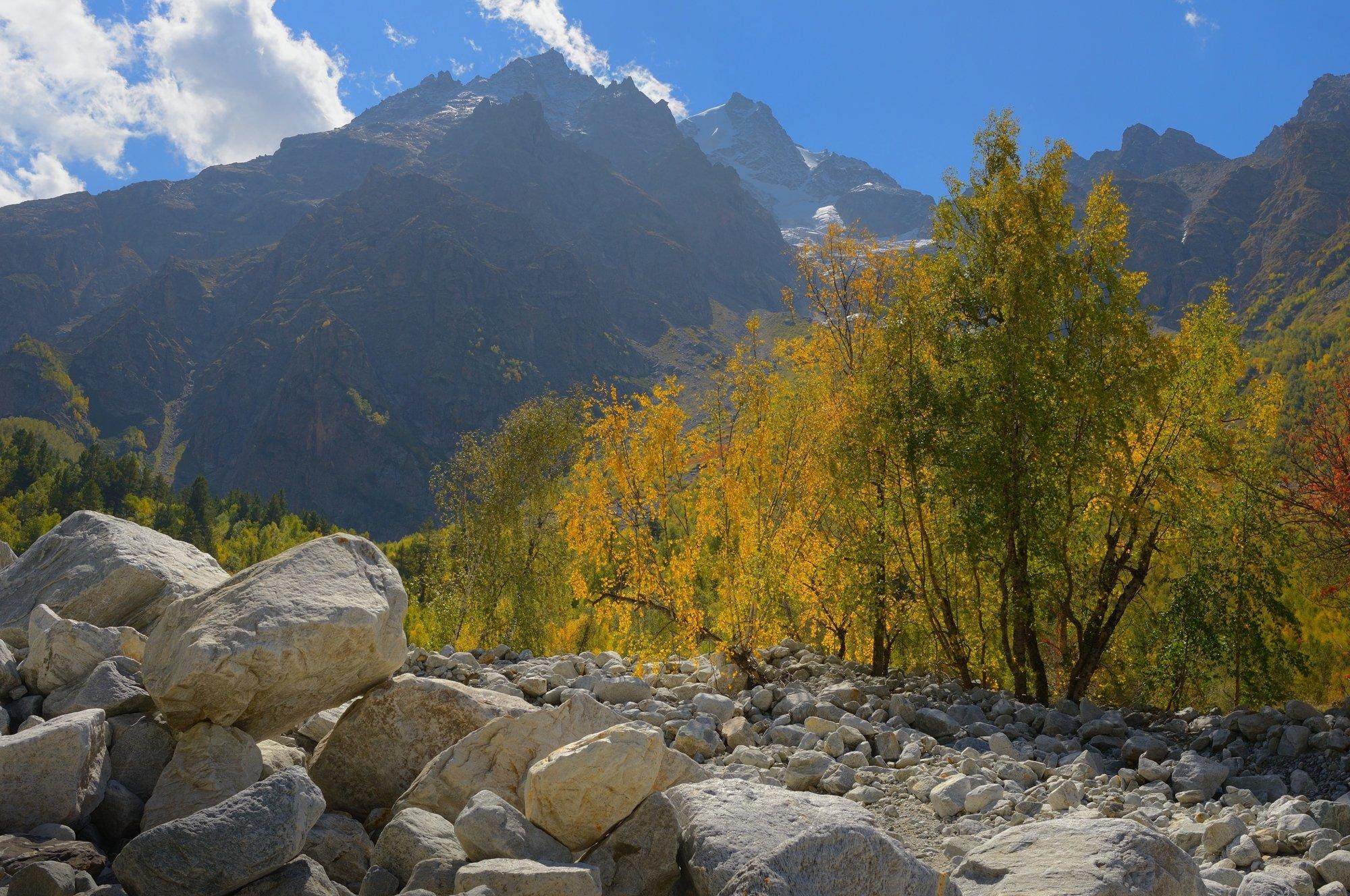 горы кавказ осень адыл-су, Александр Жарников