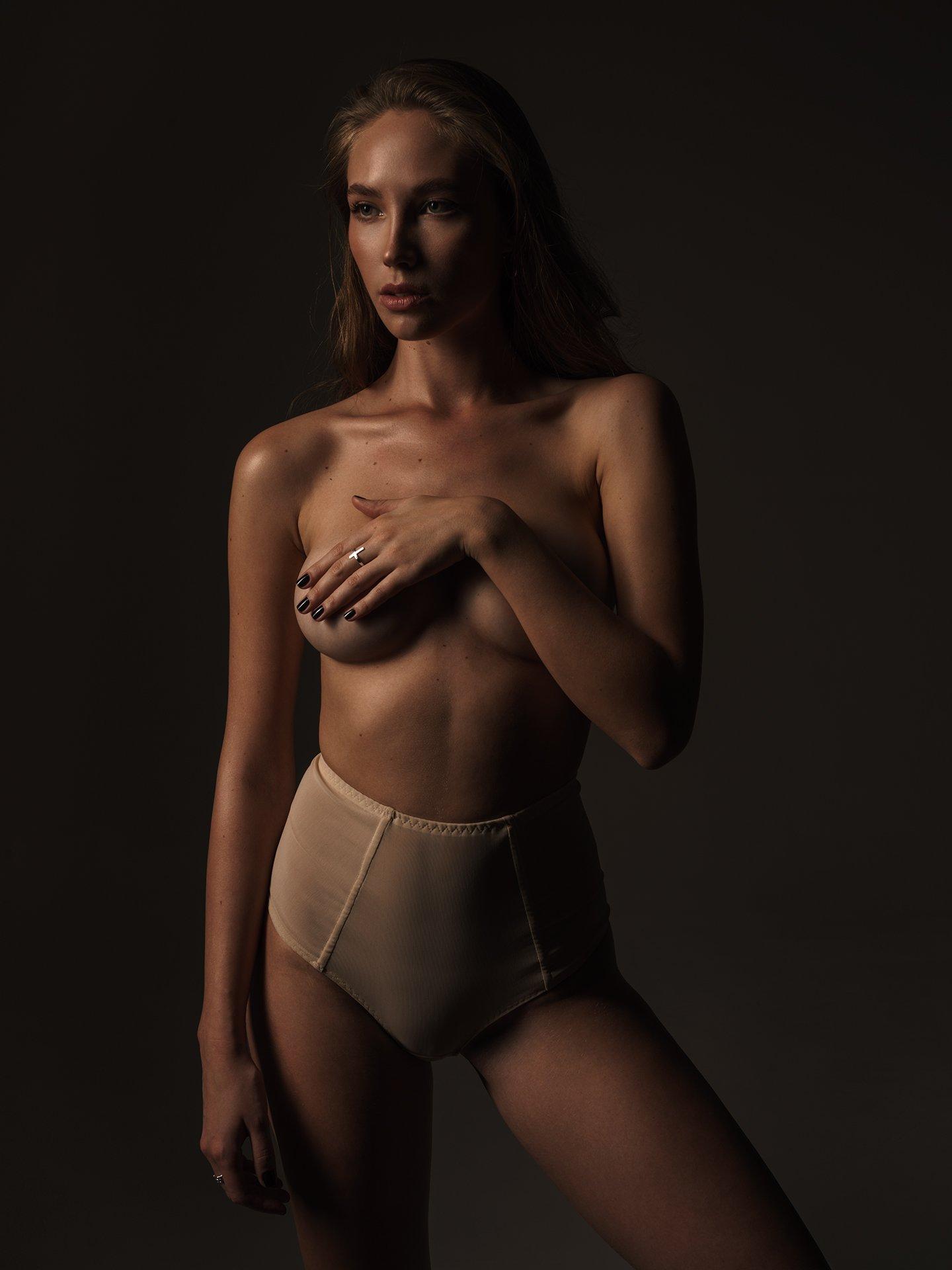 girl, studio, light, profoto, nude, underwear, worm, color, colour, shape, sexy, , Роман Филиппов