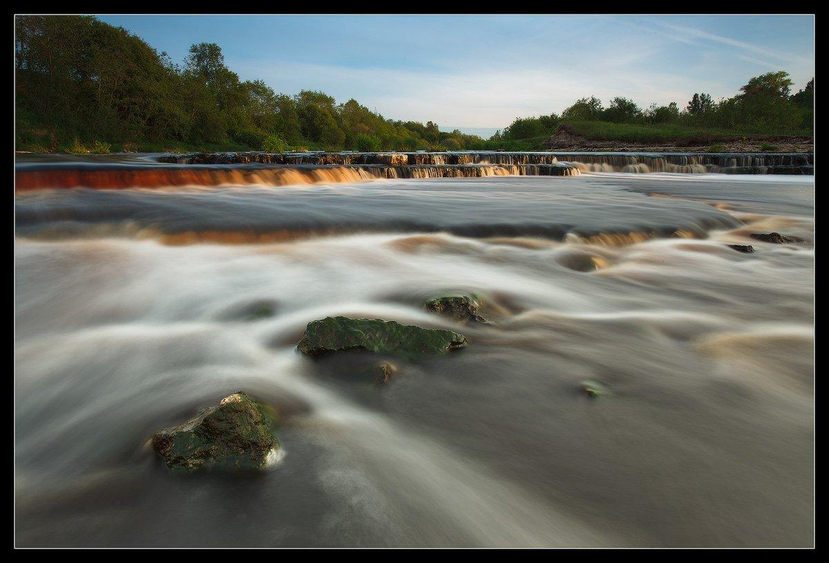 саблино, пороги, тосна, река, водопад, Ilya Shtrom