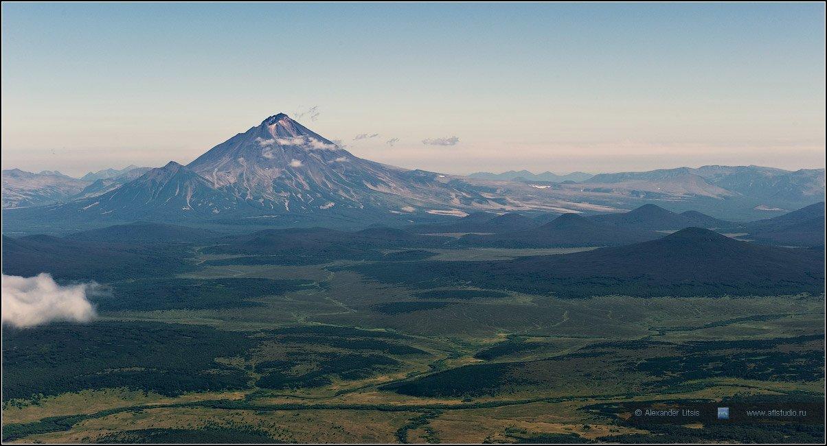 вулкан, ходутка, камчатка, горы, долина, Александр Лицис