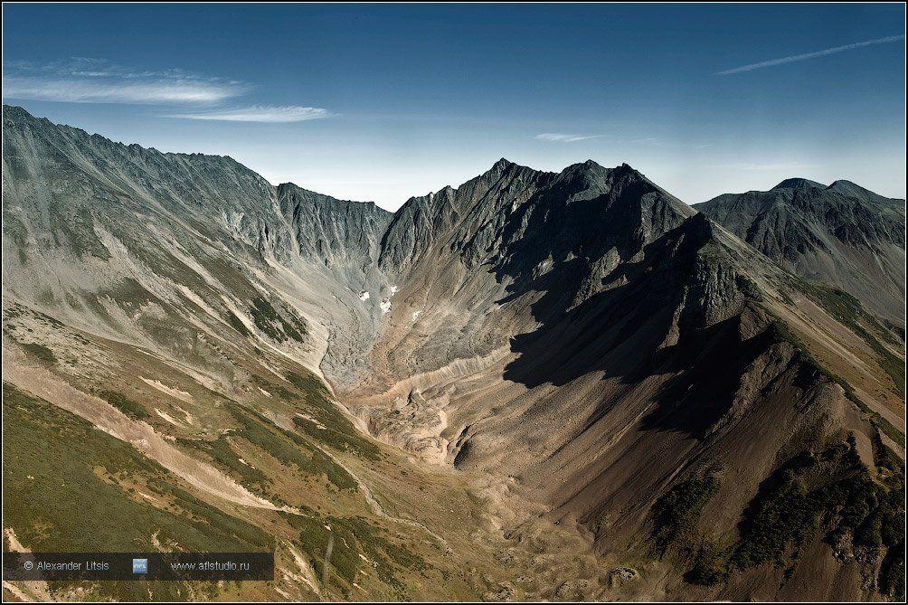 горы,скалы,цирк,камчатка, Александр Лицис