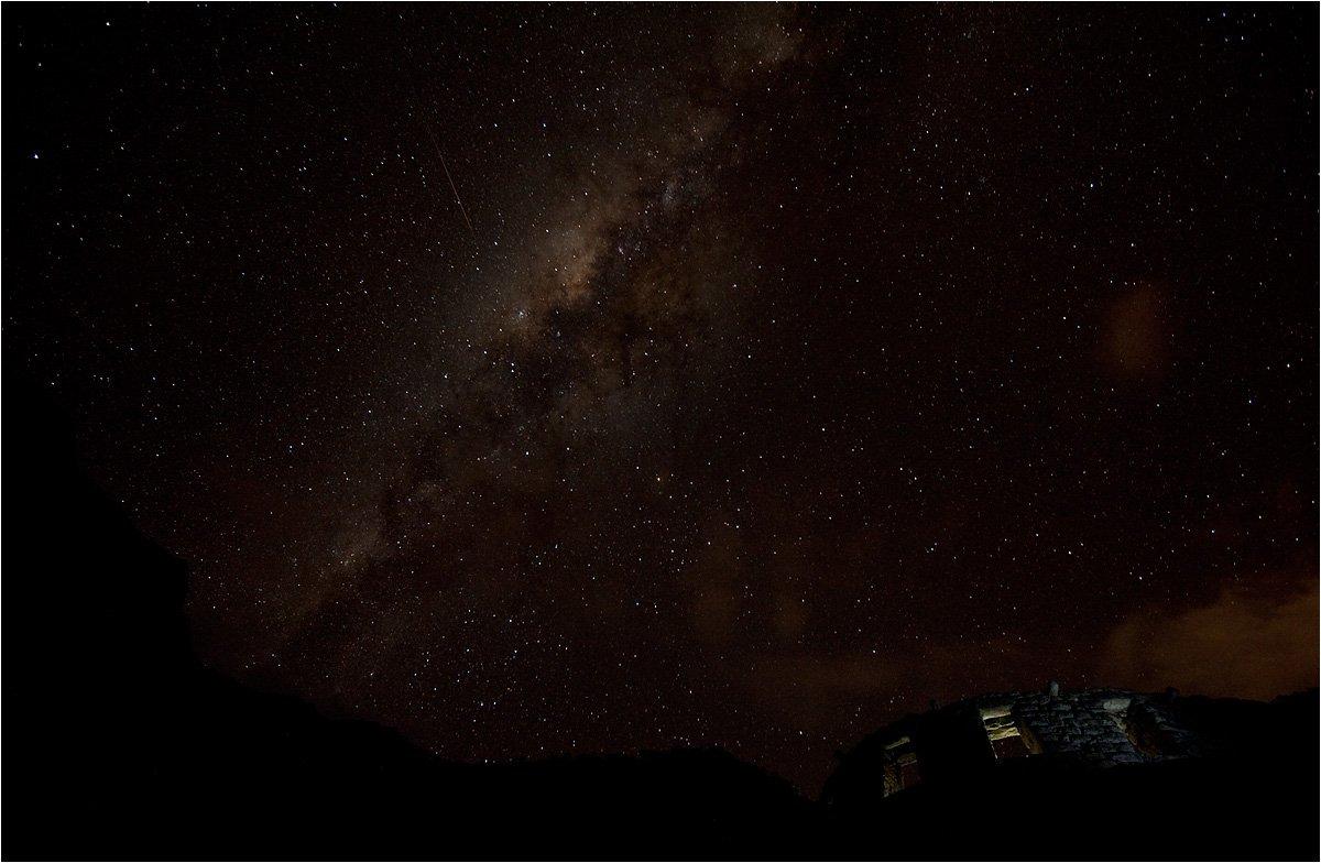 ночь, звезды, млечный, путь, Виктор Чистов
