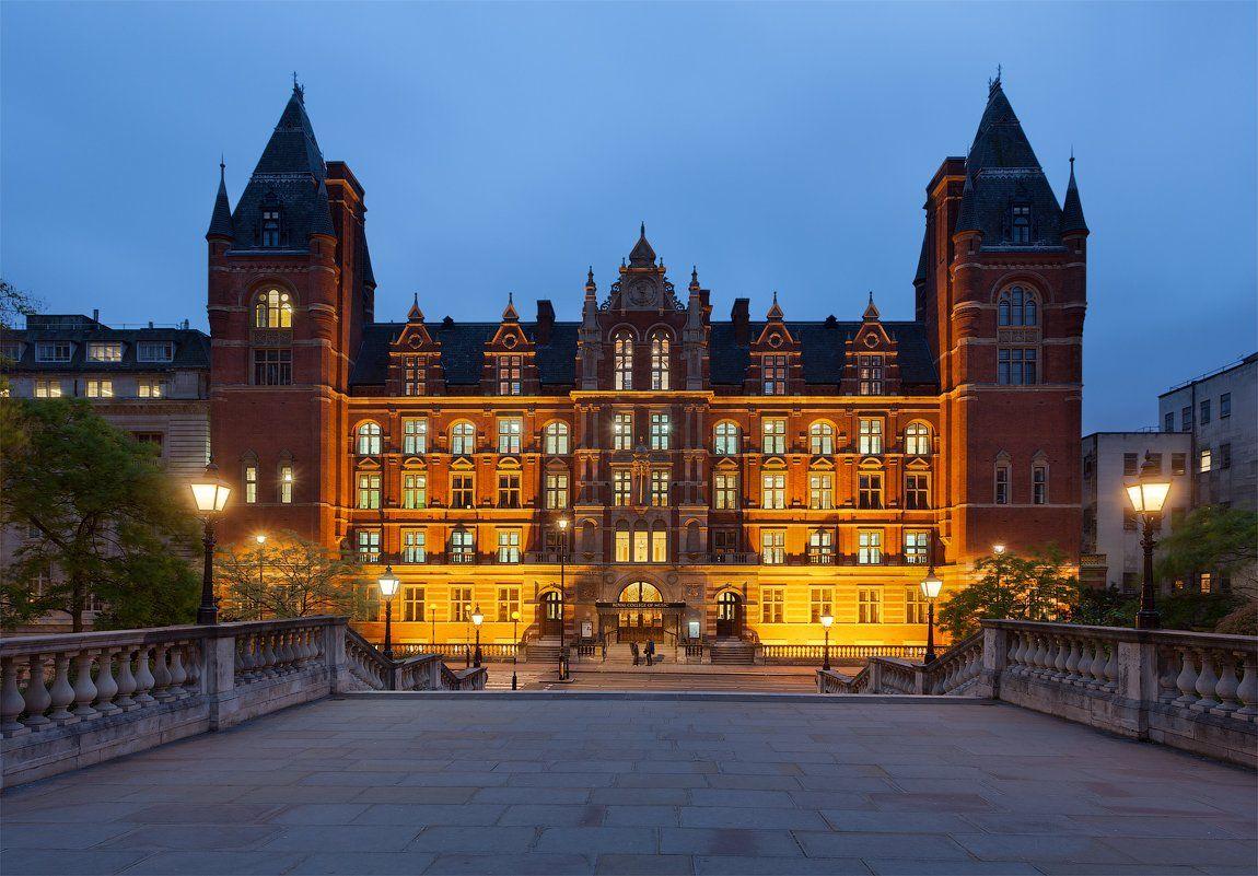 uk, london, royal college of music, blue hour, англия, лондон, Alex Darkside