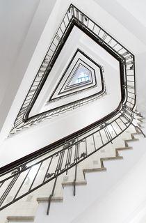 Stairs at Koernerhaus, Hamburg