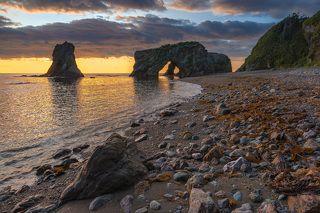 Мыс Птичий (памятник природы), о.Сахалин, Охотское море