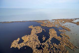 Южное побережье озера Алаколь.