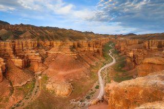 Великий Чарынский каньон