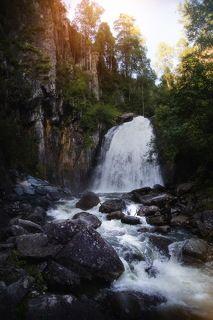 Водопад Корбу. Алтай
