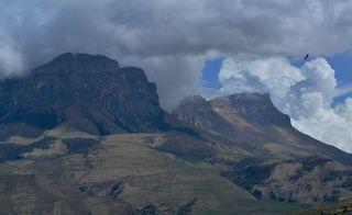 Красив Скалистый хребет, орлы с высоты это знают наверняка!