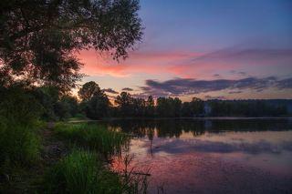 Рыбалка закончилась там, где начался закат..:))))