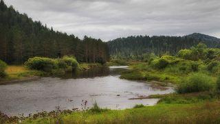 Река Мрас-Су. Таштагольский р-он. Кузбасс