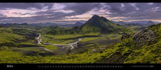 Mt. Stórasúla near Álftavatn, Laugavegur, Iceland. July 2010.