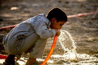 Мальчик на горе Раббани