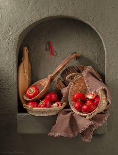 Кухонный натюрморт с нишей