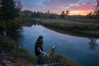 01 И фотографу и художнику крайне важно оказаться в нужном месте в нужное время...